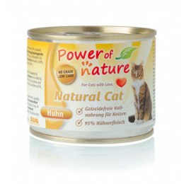 Power of Nature Natural Cat - kurczak puszka 200g
